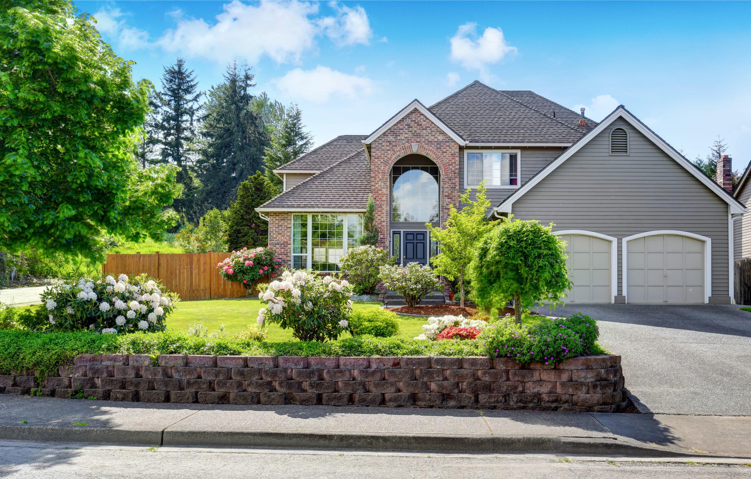 Luxury house with cedar shingles
