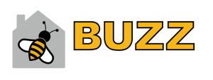 buzz cedar roofing companies logo